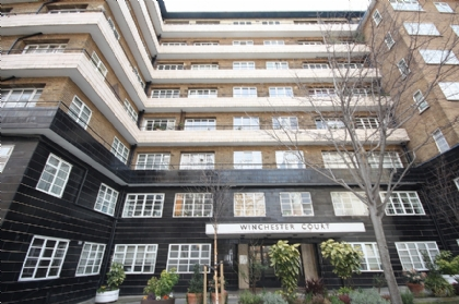 ロンドン賃貸物件:Winchester Court, Vicarage Gate, London W8