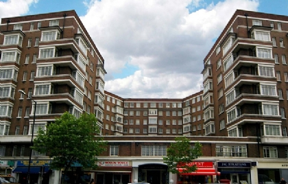 ロンドン賃貸物件:Rossmore Court, Park Road, Regents Park, London NW1